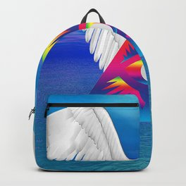 Third Eye with Wings Backpack