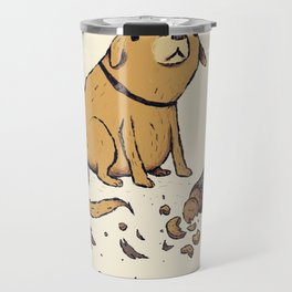 guilty dog Travel Mug