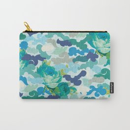 Camoflauge Roses Carry-All Pouch