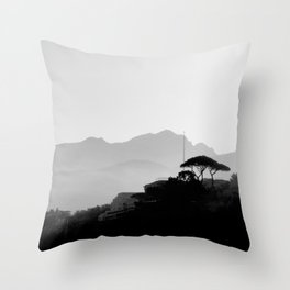 Go the Distance Throw Pillow