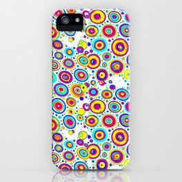 Colorful circles 4 iPhone Case