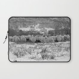 Sheep on the Brecon Beacons.Wales. Laptop Sleeve