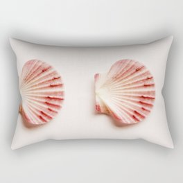 shells with leaves  Rectangular Pillow