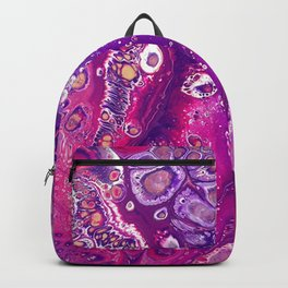 Candyland Acrylic Pour Backpack