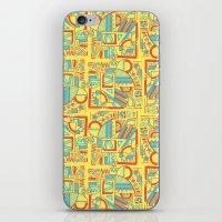 safari iPhone & iPod Skins featuring Safari by Kancata