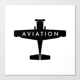 Aviation Canvas Print