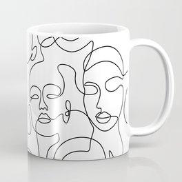 Crowded Girls Coffee Mug