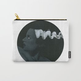 Frankenstein's bride on vinyl record print Carry-All Pouch
