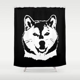 SHIBA INU JAPANESE DOG Shower Curtain