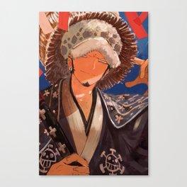 Trafalgar Law One Piece Canvas Print