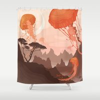 posters Shower Curtains featuring Eclipse by Alex Craig