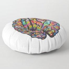 A Renewed Mind Floor Pillow