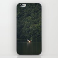 rowing iPhone & iPod Skins featuring Rowing back home. by Nepal