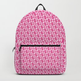 Organic Letter A Script Pattern Backpack