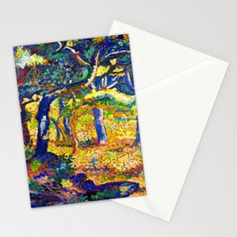 Henri Edmond Cross Clearing in Provence Stationery Cards