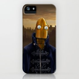 Steampunk Robot iPhone Case