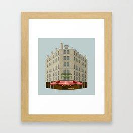 Le Bistrot Framed Art Print