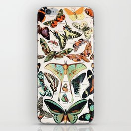 Adolphe Millot - Papillons pour tous - French vintage poster iPhone Skin