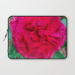 Folded Red Rose Laptop Sleeve