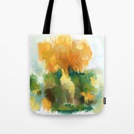 Golden bouquet Tote Bag