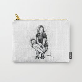 Xenia Tchoumitcheva Squatting Woman Carry-All Pouch