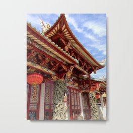 Tin Hau Temple Metal Print