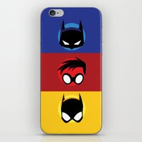 heroes iPhone & iPod Skins featuring Heroes by gallant designs