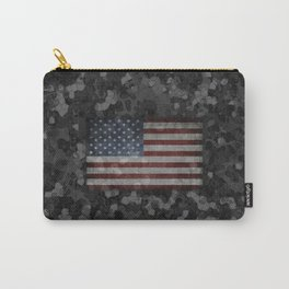 Night Flag Camo Carry-All Pouch
