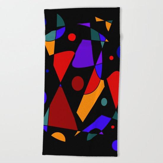 Abstract #86 Beach Towel