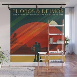 Phobos Deimos Wall Mural