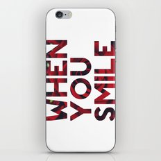 I Smile... iPhone & iPod Skin
