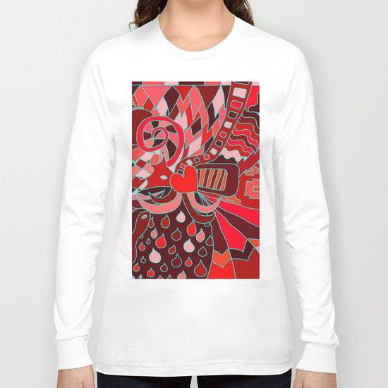 Abstract 28 Long Sleeve T-shirt