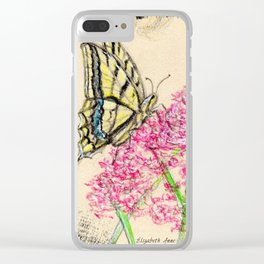 Collette's butterfly Clear iPhone Case