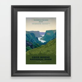Gros Morne Framed Art Print