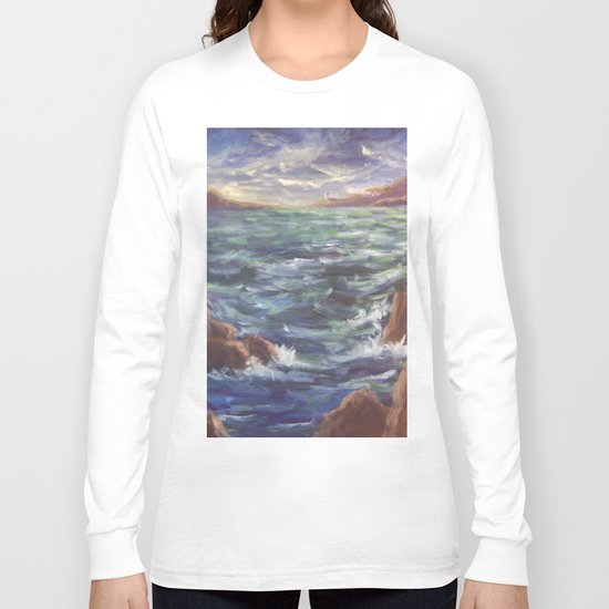 Lighthouse in the Distance AC150426 Long Sleeve T-shirt