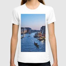Venice at dusk - Il Gran Canale T-shirt