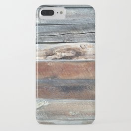 Cold Springs Barnwood iPhone Case