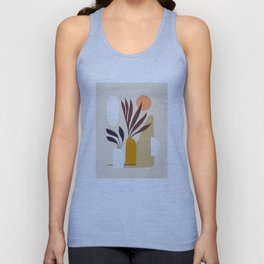 The Shapes of Nature 1 Earthy Unisex Tank Top