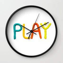 PLAY (Warm) Wall Clock