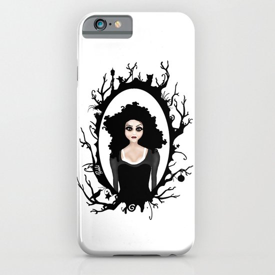 I keep my dark thoughts deep inside. iPhone & iPod Case