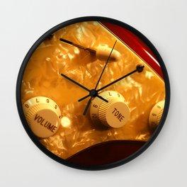 Control Knobs Wall Clock