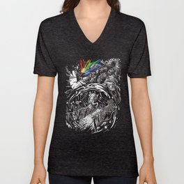 Dark Side of the Rainbow Unisex V-Neck
