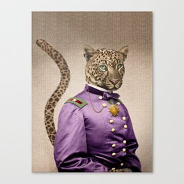 Grand Viceroy Leopold Leopard Canvas Print