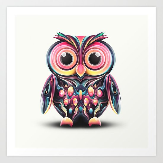 This owls a hoot Art Print