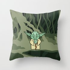 EP5 : Yoda Throw Pillow
