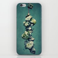 stone iPhone & iPod Skins featuring stone by Claudia Drossert