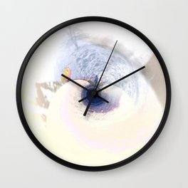 meeting on the blue planet Wall Clock
