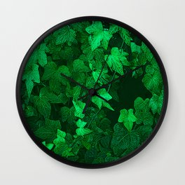429 Lush Ivy Wall Clock