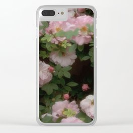Rose Garden XIII Clear iPhone Case