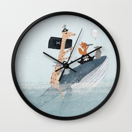 lets play pirates Wall Clock